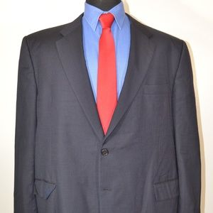 Hickey Freeman 46L Sport Coat Blazer Suit Jacket